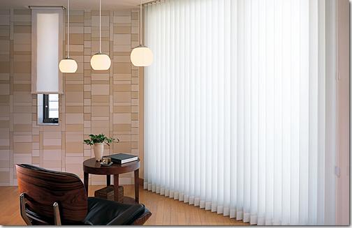 Vertical blind di rumah