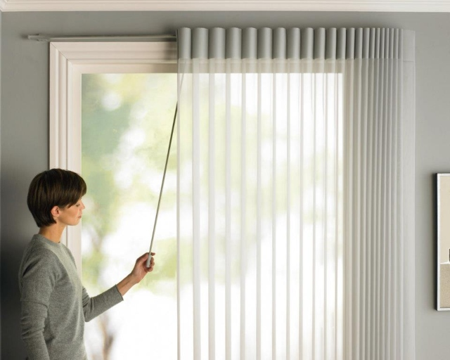 Vertical Blind Dim Out